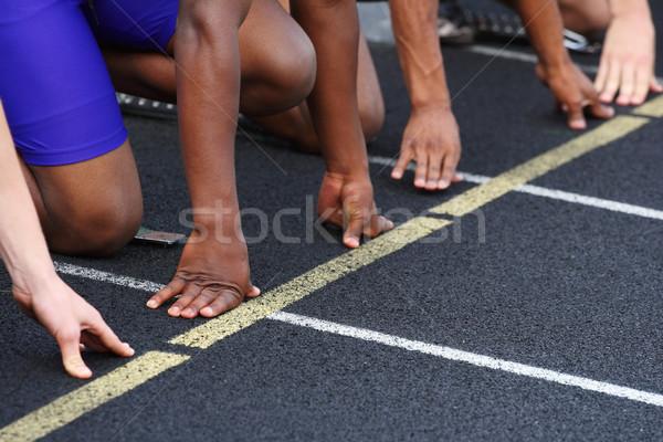 Starting line Stock photo © soupstock