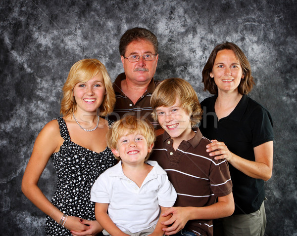 Classic Family Portrait Stock photo © soupstock