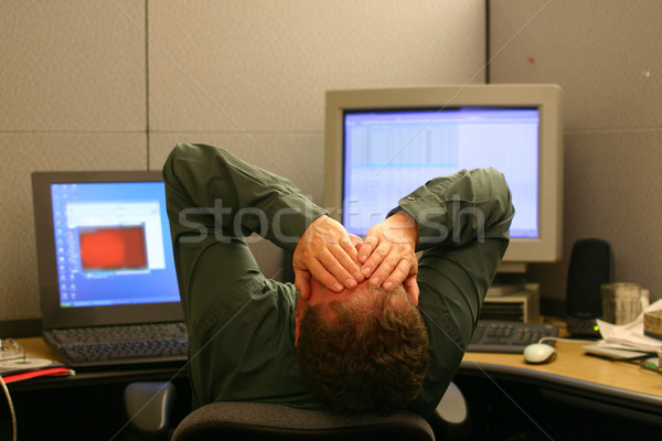 Overworked Stock photo © soupstock