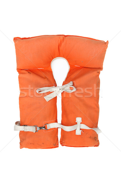 Old vintage life jacket Stock photo © soupstock