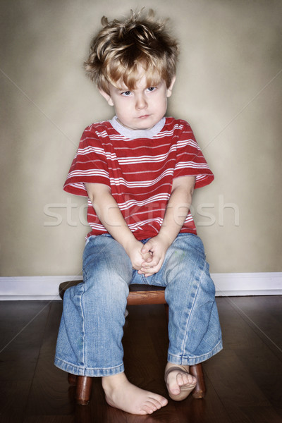 Stock photo: Time Out