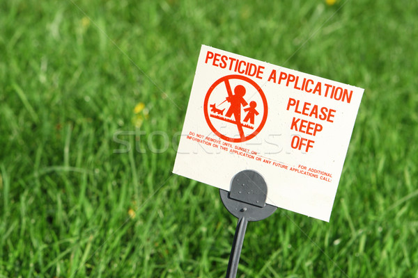 Pesticide Application Stock photo © soupstock