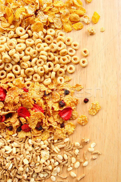 Different kinds of Breakfast Cereal Stock photo © soupstock