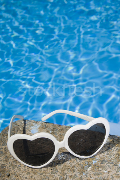 Sunglasses by the Pool Stock photo © spanishalex