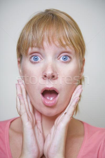 驚いた 女性 ストックフォト © spanishalex
