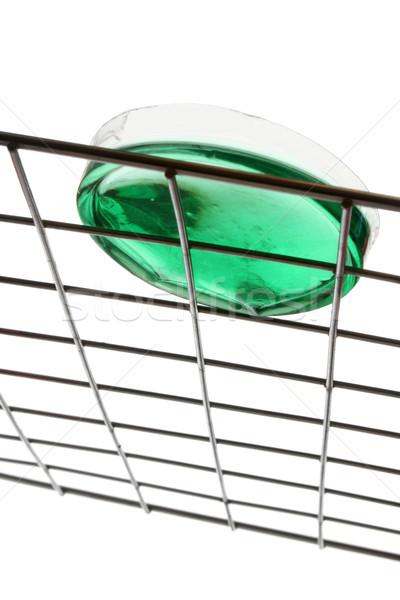 Plat plastique métal rack vert liquide Photo stock © spanishalex