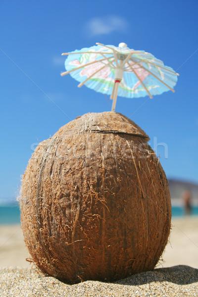Coconut Cocktail Stock photo © spanishalex