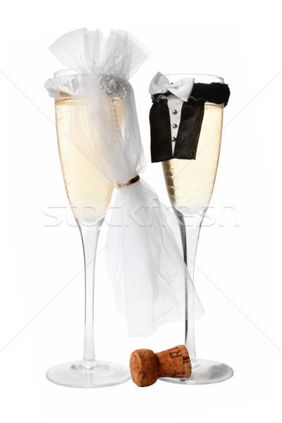 Wedding Champagne Stock photo © spanishalex