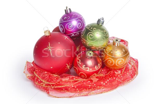 静物 クリスマス 巣 白 ストックフォト © spanishalex