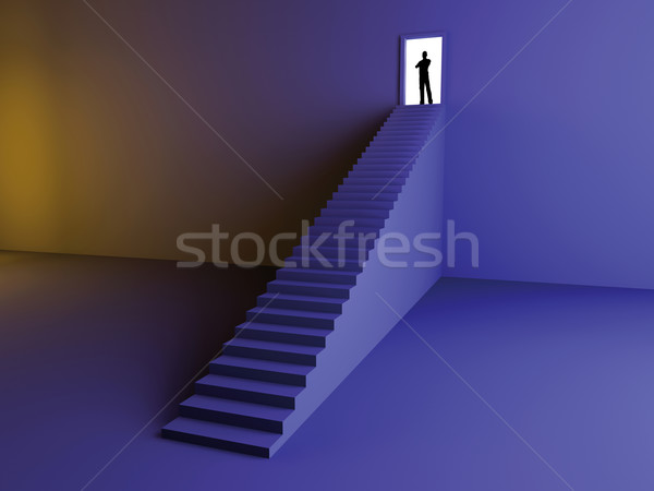 On the Top Stock photo © Spectral