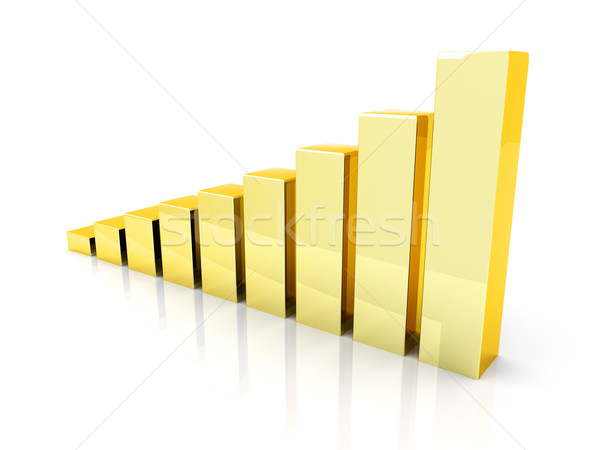 Rising gold Stock photo © Spectral