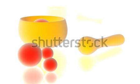 Zen подготовка символический 3D декораций аннотация Сток-фото © Spectral