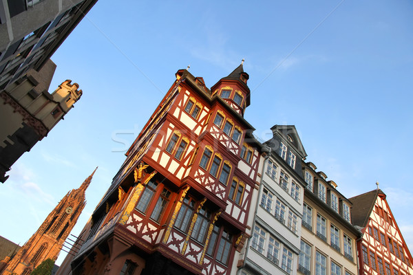 Old town in Frankfurt am Main Stock photo © Spectral