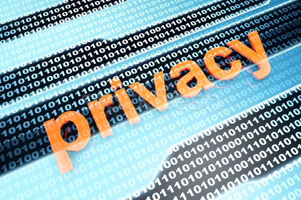 Privacy Stock photo © Spectral