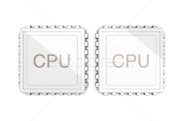 Dual core CPU Stock photo © Spectral