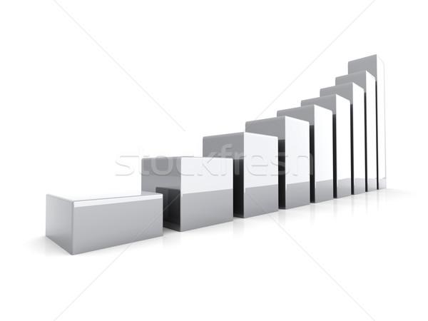 платина 3D оказанный иллюстрация изолированный Сток-фото © Spectral