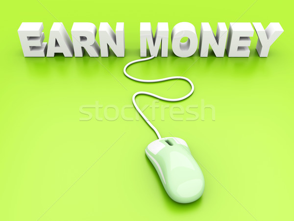 Earn Money	 Stock photo © Spectral