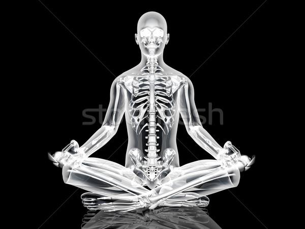 Yoga Meditation pose Stock photo © Spectral