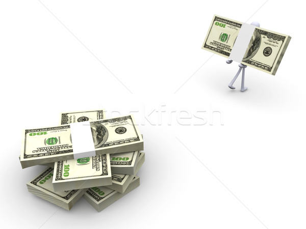 Pick up your cash		 Stock photo © Spectral