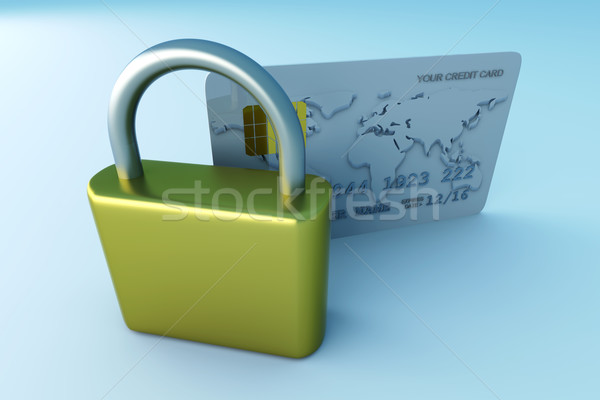 Secure Credit Card		 Stock photo © Spectral