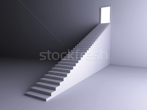 Staircase to the Light Stock photo © Spectral