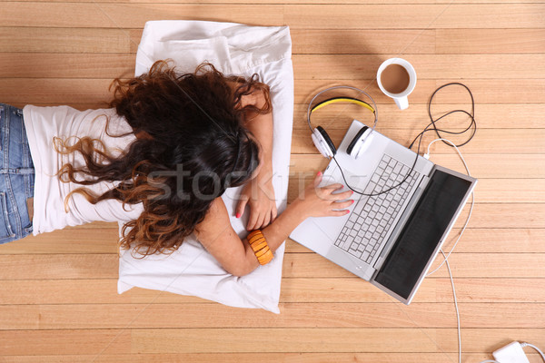 Surfing on the Internet Stock photo © Spectral
