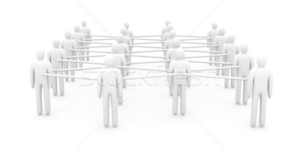 Grid People Stock photo © Spectral