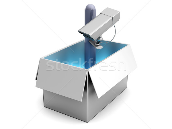 Surveillance out of the Box Stock photo © Spectral