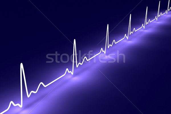 Pulse trace Stock photo © Spectral
