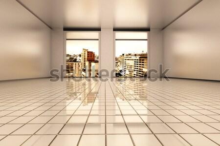 Sao Paulo apartamento interior vacío 3D prestados Foto stock © Spectral