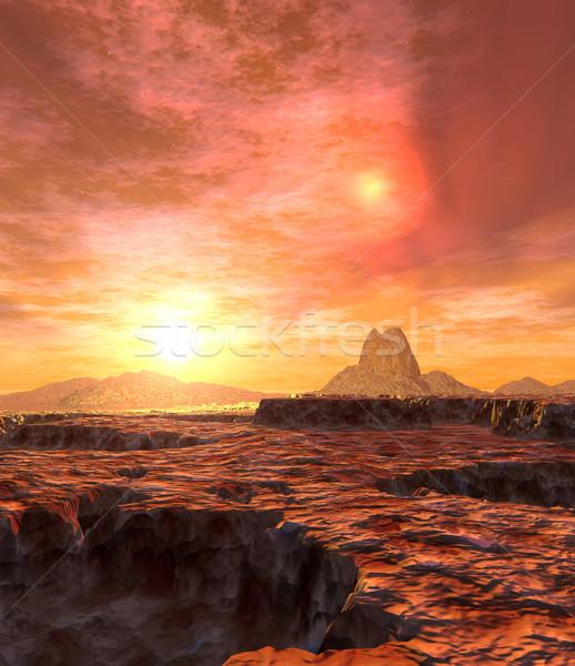 Dual Sun of Kaito Stock photo © Spectral