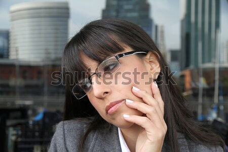 Daydreaming Business Woman		 Stock photo © Spectral