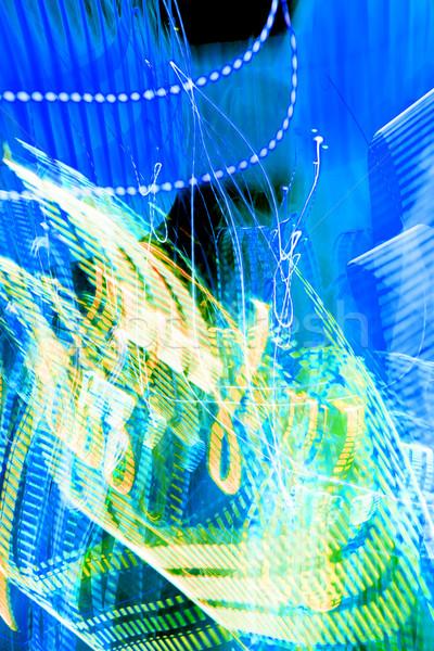 Mázgás fény homályos csíkok absztrakt textúra Stock fotó © Spectral