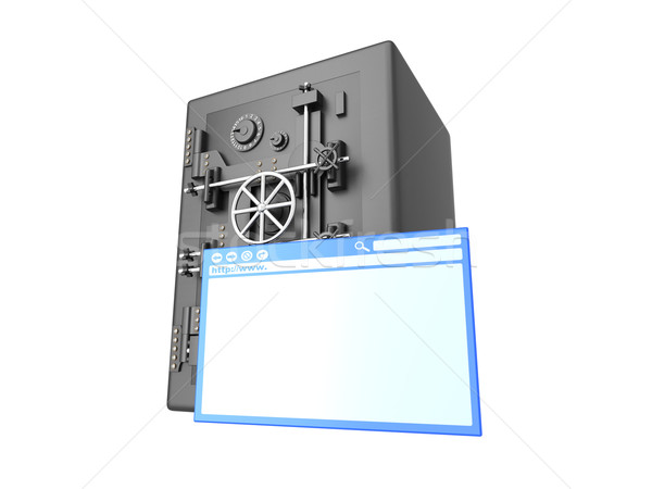 Safe browsing Stock photo © Spectral