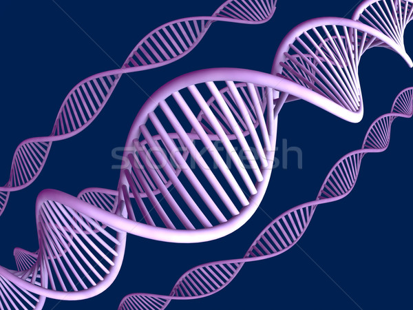 Stock photo: Generic DNA Helix