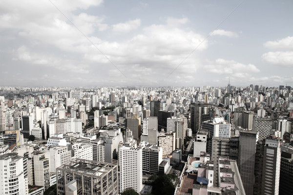 Skyline of Sao Paulo  Stock photo © Spectral