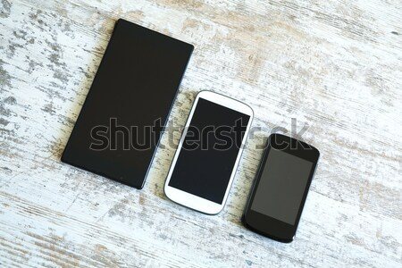 Various smartphones and Tablet PCs	 Stock photo © Spectral