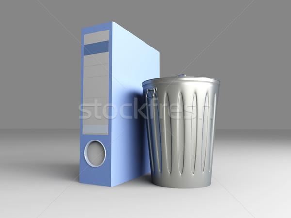 Trashed folder Stock photo © Spectral