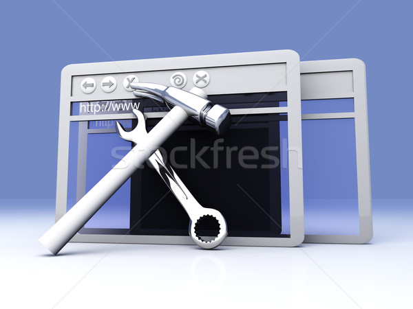 Website under construction			 Stock photo © Spectral