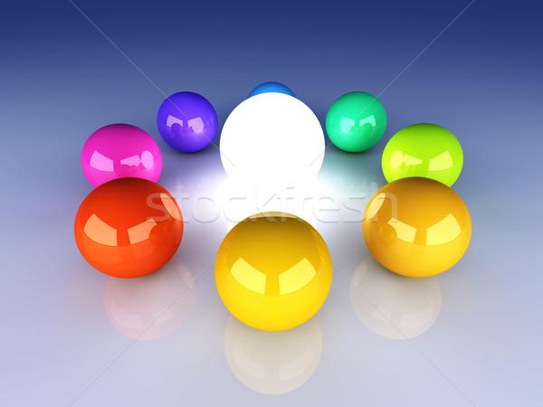 Enlightened Color wheel Stock photo © Spectral