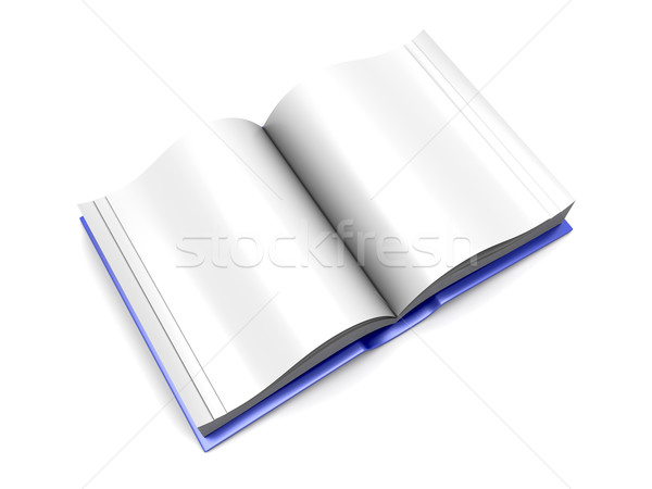 Open Book Stock photo © Spectral