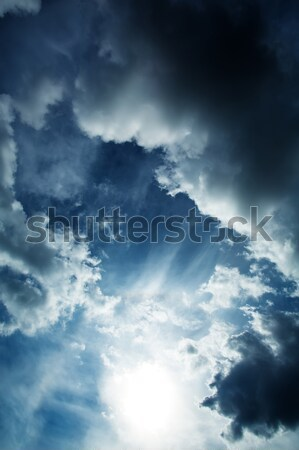 Dramatic Sky		 Stock photo © Spectral