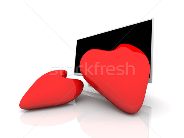 Display in Love Stock photo © Spectral