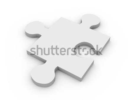 Puzzle Piece Stock photo © Spectral