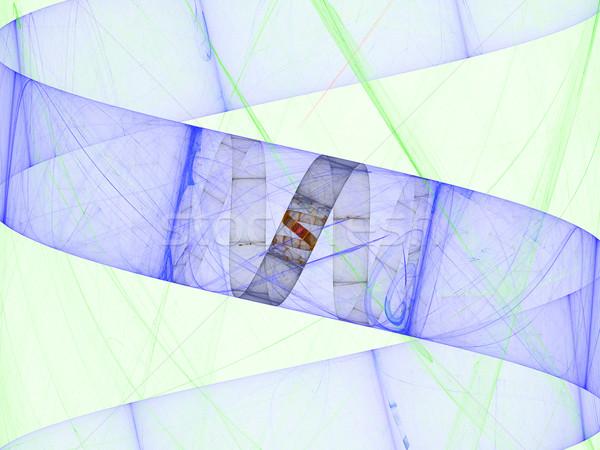 Frattale fiamma math cosmico abstract design Foto d'archivio © Spectral