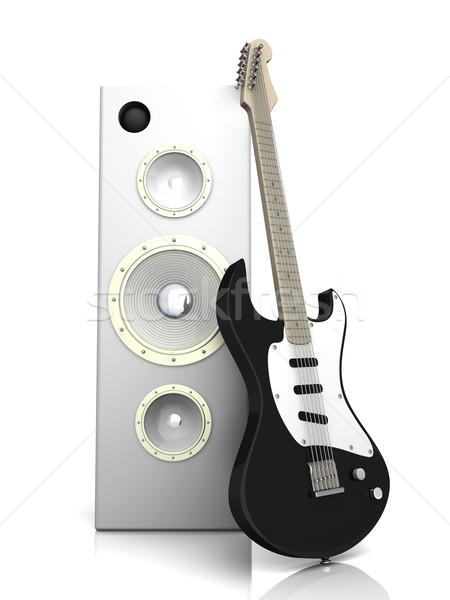 Audio Entertainment Stock photo © Spectral