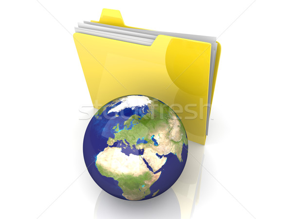 Global Folder - Europe Stock photo © Spectral