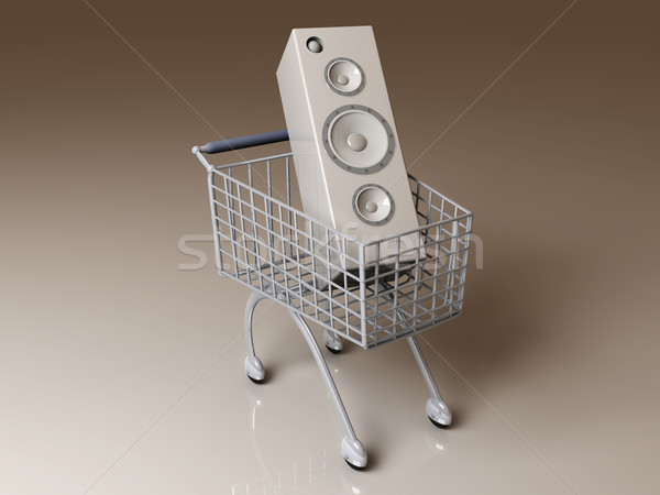 Music Shopping Stock photo © Spectral