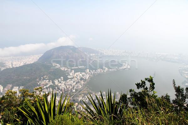 Сток-фото: мнение · Рио-де-Жанейро · панорамный · Бразилия · Южной · Америке · пляж