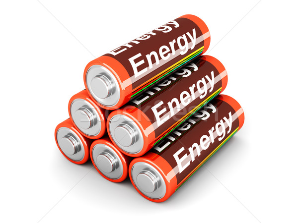 Battery Pyramid										 Stock photo © Spectral